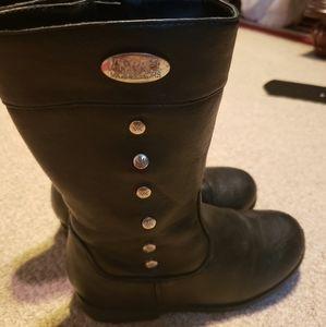 Michael kors little girls sz 11 black boots